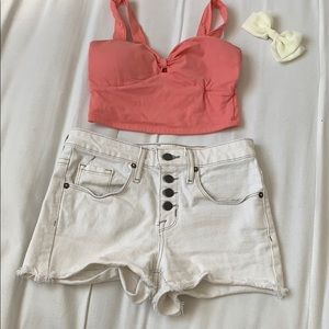 Pants - High Rise shorts